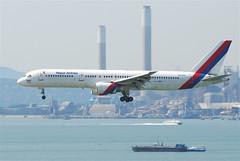 Nepal Airlines Boeing 757-2F8C; 9N-ACA@HKG;04.08.2011/615vg