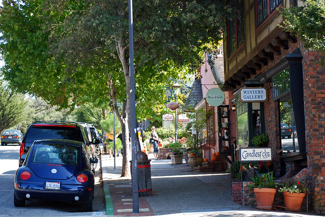 carmel california creative small towns