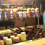 Condiment bar