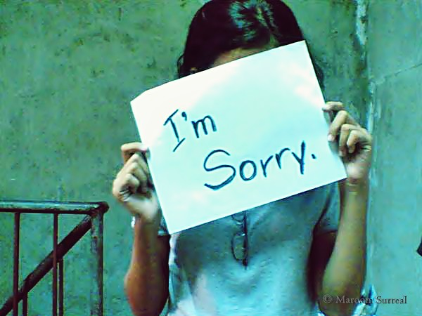 I'm Sorry from Flickr via Wylio