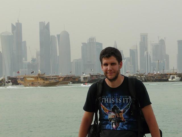 Pablo en Doha (Qatar)