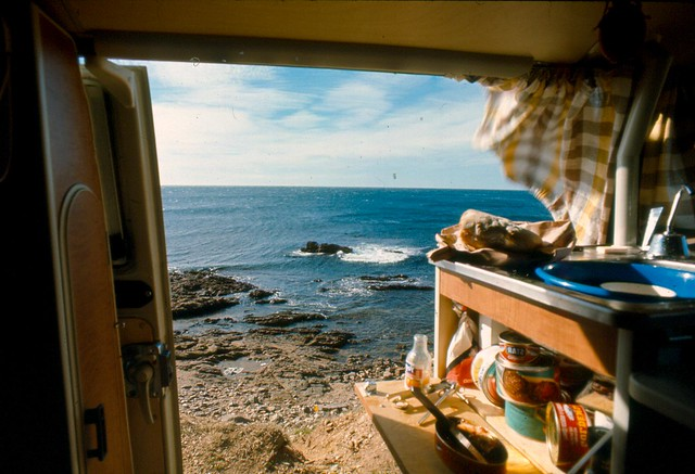 Camping in the Van