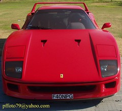 ferrari 288 gto(0.0), ferrari testarossa(0.0), race car(1.0), automobile(1.0), vehicle(1.0), performance car(1.0), automotive design(1.0), ferrari f40(1.0), bumper(1.0), ferrari s.p.a.(1.0), land vehicle(1.0), luxury vehicle(1.0), supercar(1.0), sports car(1.0),