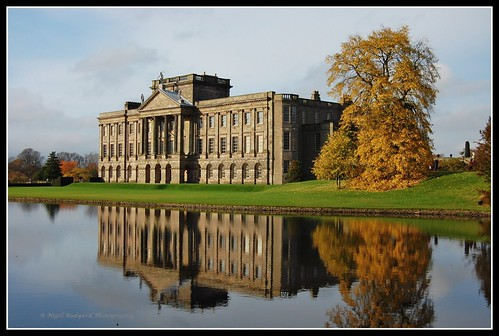 Lyme Hall in Fall