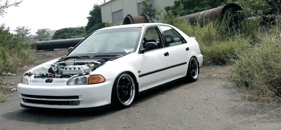 92 Honda Civic Ferio Taiwan