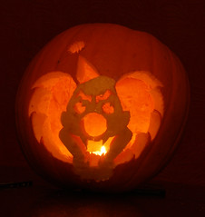 The world 39 s best photos of coulrophobia and evil flickr for Clown pumpkin painting
