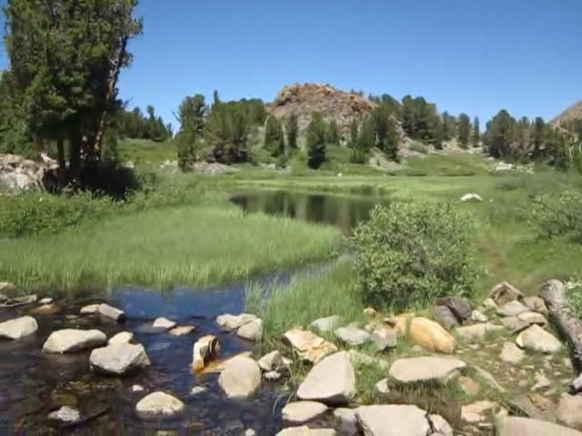 0144 Bishop Pass Trail - Long Lake video