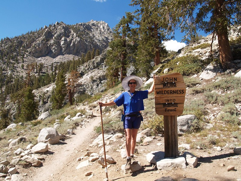 We soon hiked into the John Muir Wilderness