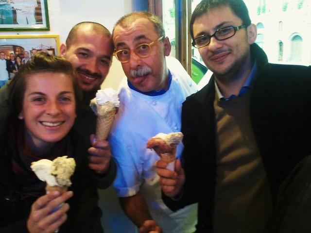 Francesca, Giuseppe, il Signor Dondoli e Danilo