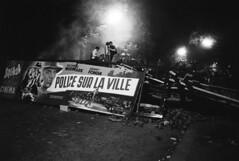 Student Riots, Boulevard Saint-Michel, Paris, 1968, by Goksin Sipahioglu
