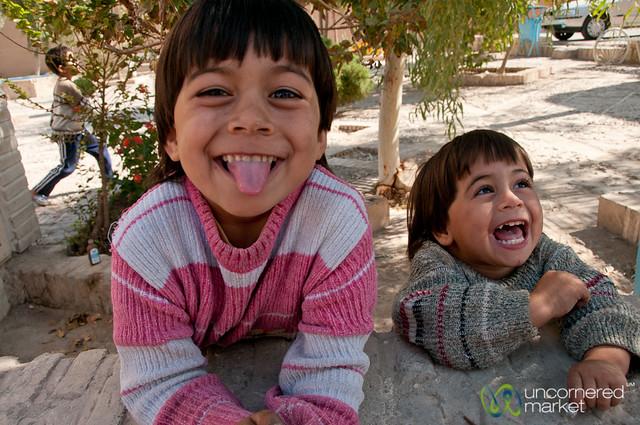 Kids being Kids - Yazd, Iran