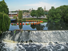 View from Hepworth Wakefield, West Yorkshire