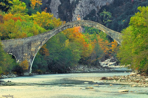 bridge landscape gallery places greece automn flickraward rockflickraward