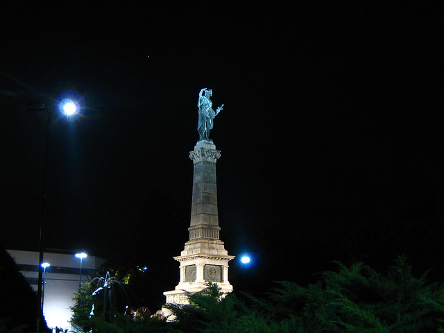 свободата Русе 2009 г. Monument of Liberty Ruse Bulgaria