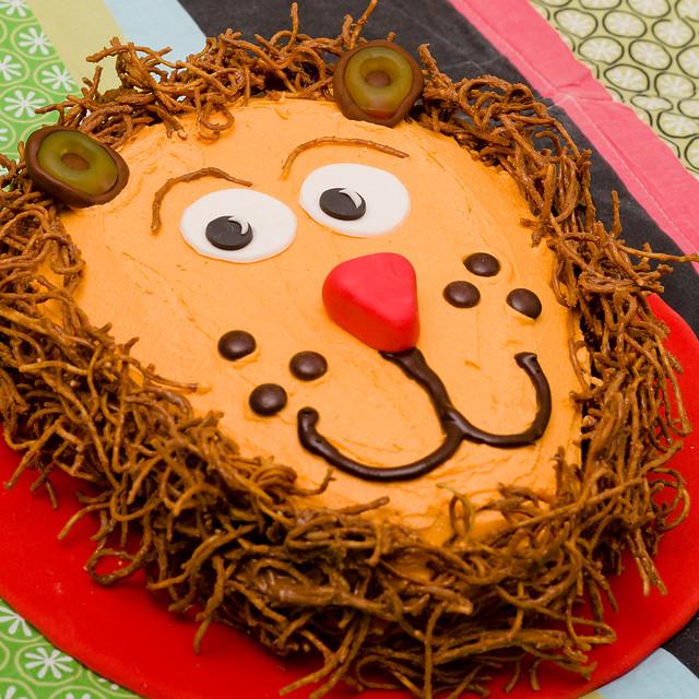 Lion Birthday Cake Images