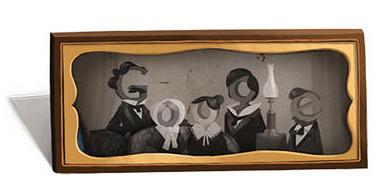 Louis Daguerre on Google Doodle