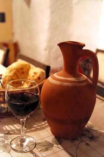 House Wine in terracotta