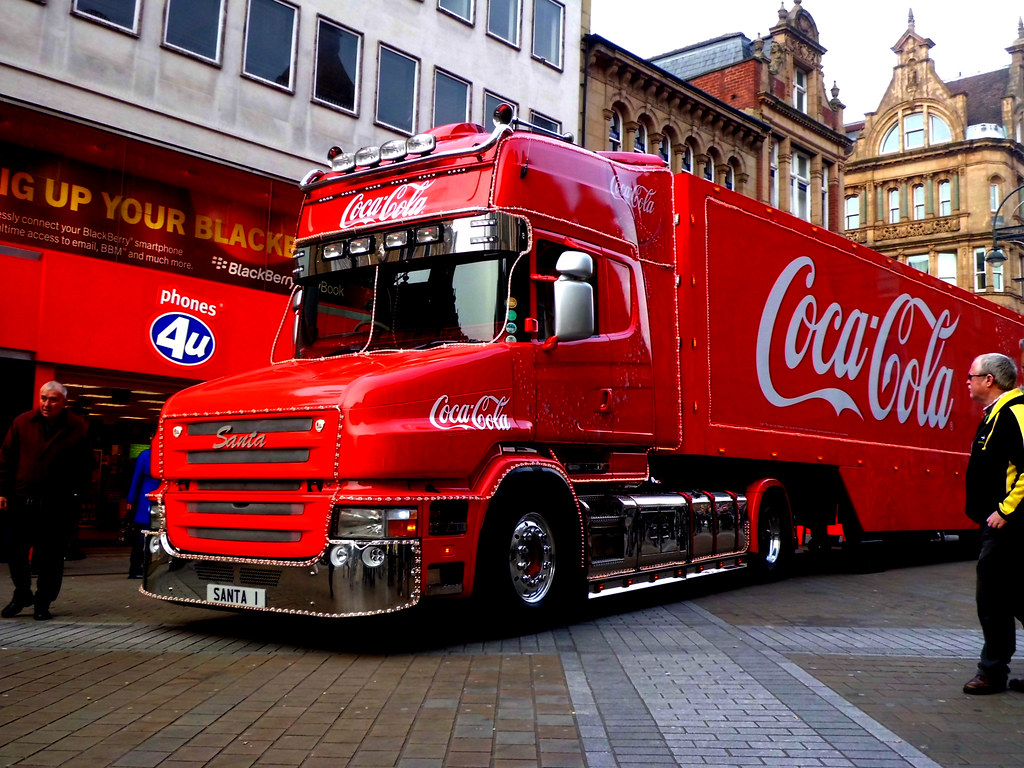 Coca Cola Trucks Wallpaper Image
