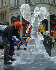 Ice Sculptor by Tim Green aka atoach