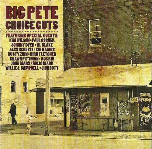 Big Pete Pluijm - Choice Cuts CD Cover