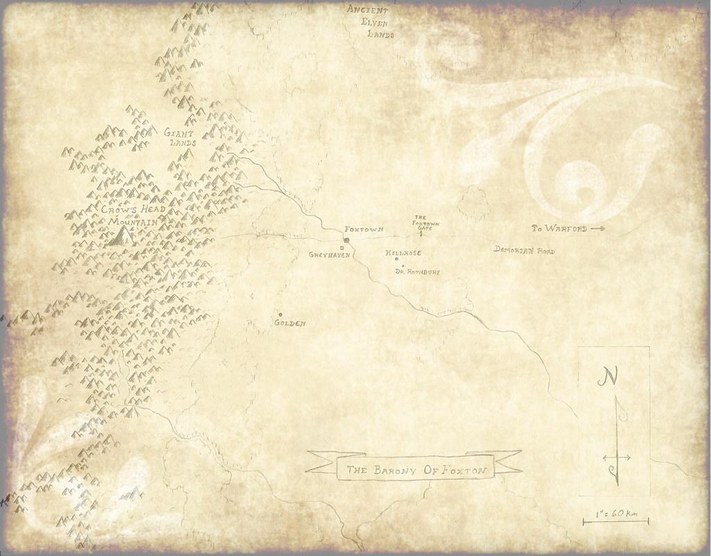 Foxton Map