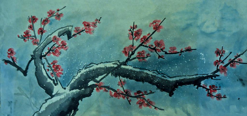 Snow Plum Blossom 梅花雪 ...