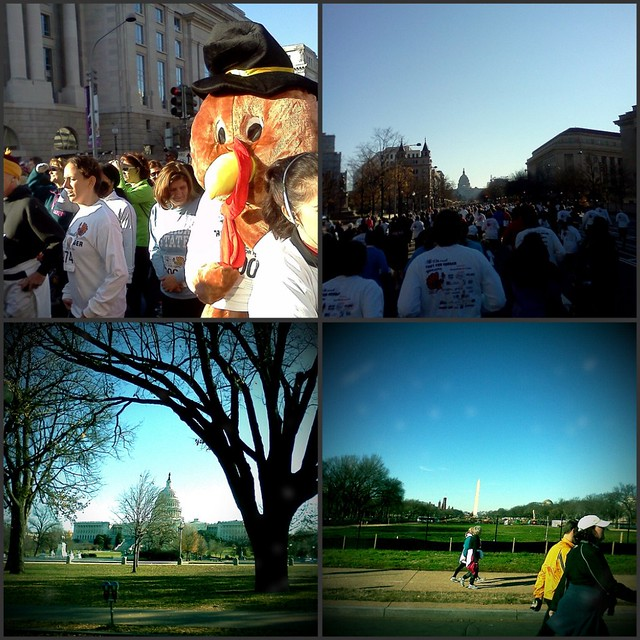 Turkey Trot collage