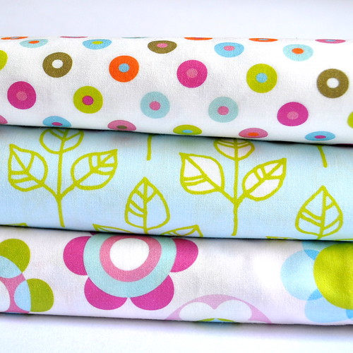 flower bed series of fabrics