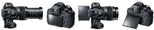 Fujifilm X-S1 -- Tilting LCD