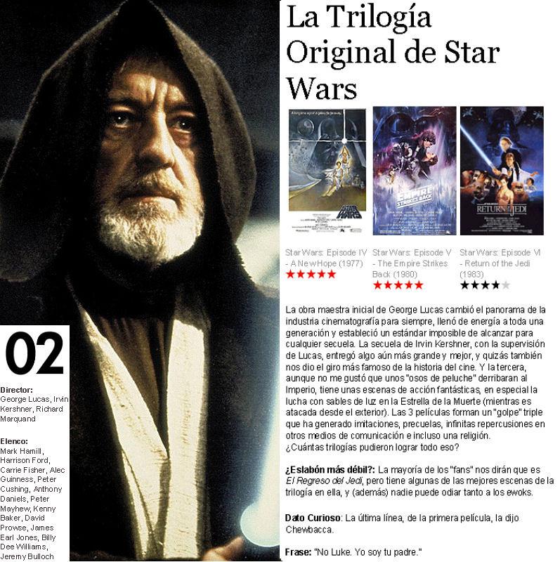 Las 10 Mejores Trilogías del Cine