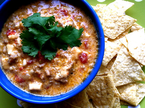 MF Sausage Queso Dip