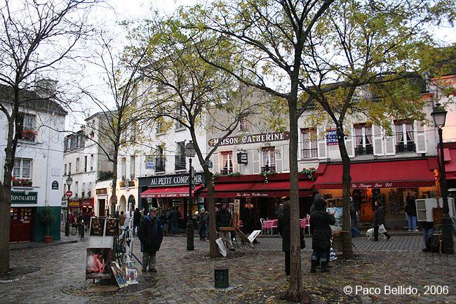 Un rincón de Montmartre. © Paco Bellido, 2006
