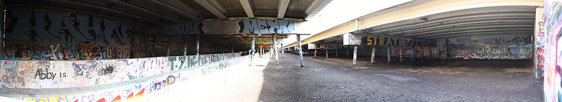 Graffiti Graveyard Panorama