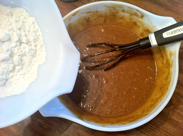 Whisk in Remaining Flour