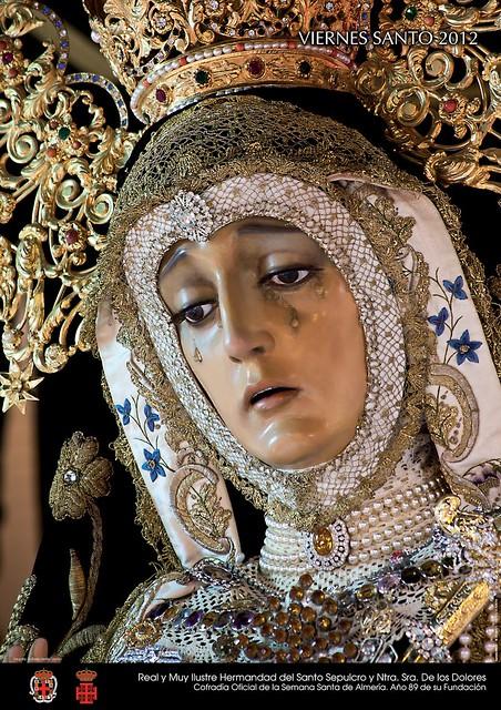 CARTEL HERMANDAD DEL SANTO SEPULCRO 2012