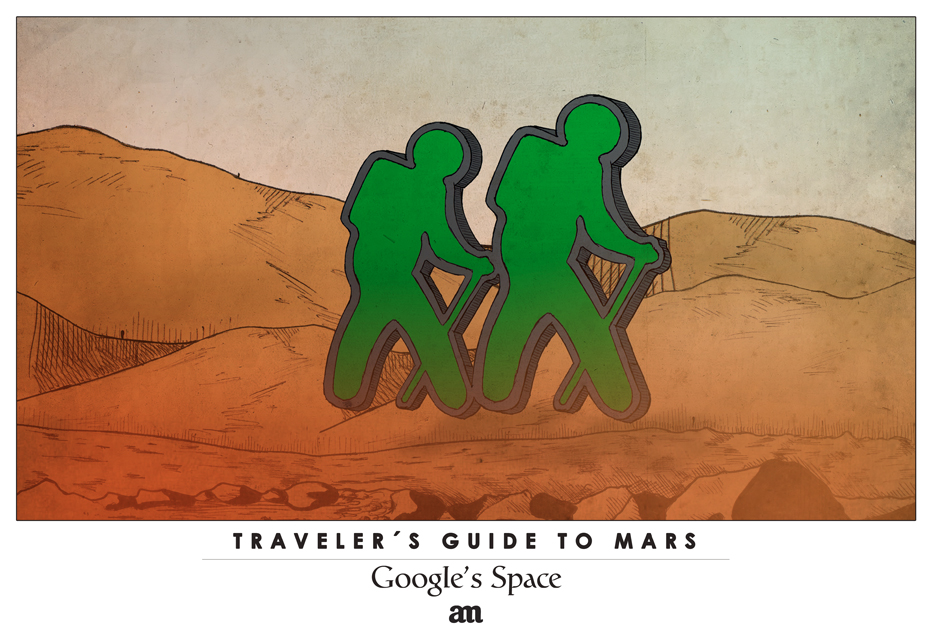 "Traveler's Guide to Mars ""Google's Space"""