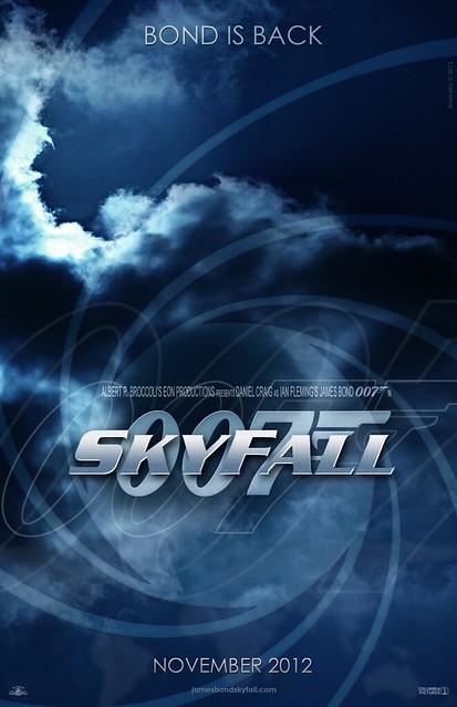 """""""Skyfall"""" Teaser Poster #1"""