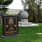 Graves of Matthew Henson and Robert Peary - Arlington National Cemetery - 2011