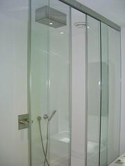 furniture(0.0), room(1.0), glass(1.0), plumbing fixture(1.0), shower(1.0), door(1.0),