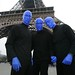 Blue Man Group at the La Tour Eiffel