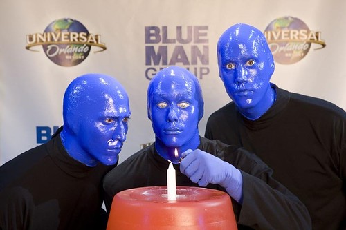 Blue Man Group at Universal Orlando Resort