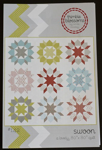 Getting ready to make my Figgy Pudding Swoon quilt