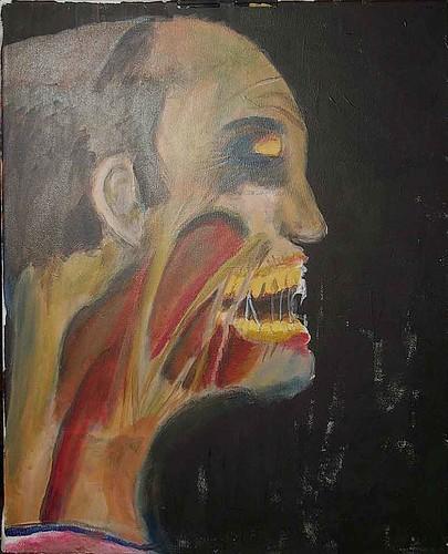 zombie painting