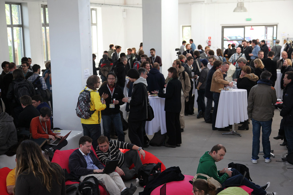 OGDcamp crowd, Warsaw, 2011