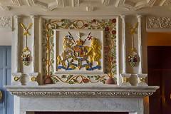Fireplace in the Royal Palace, Edinburgh Castle