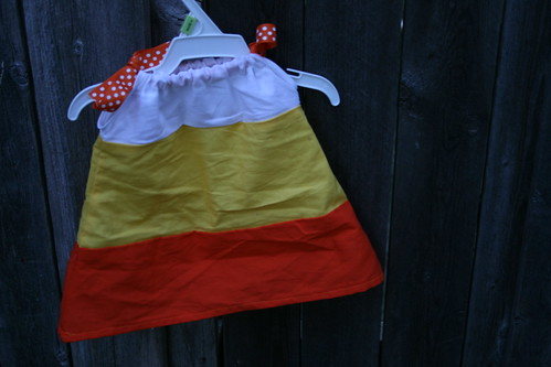 Baby Candy Corn Dress