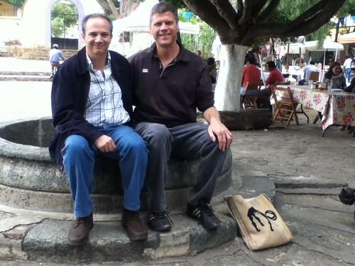 Rogelio y Ron @ Oaxaca 10.2011