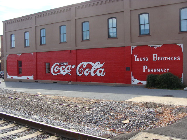 Coca cola wall mural first ever this wall mural was for Coca cola wall mural