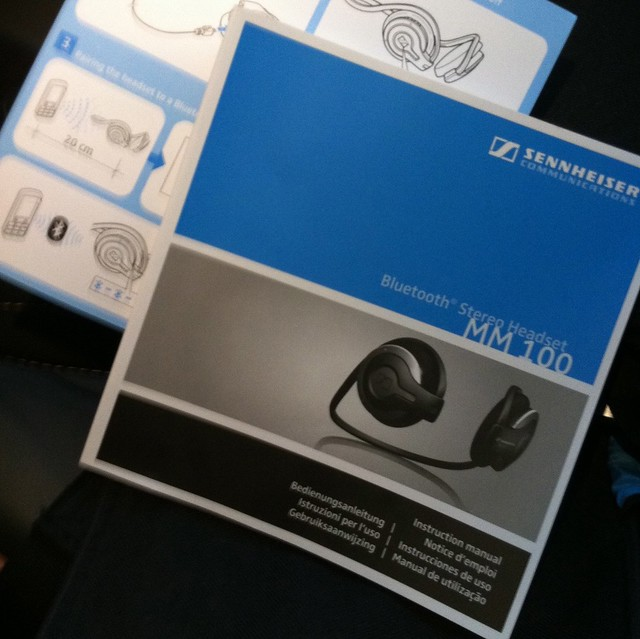 Sennheiser MM 100 Wireless Neckband Headset