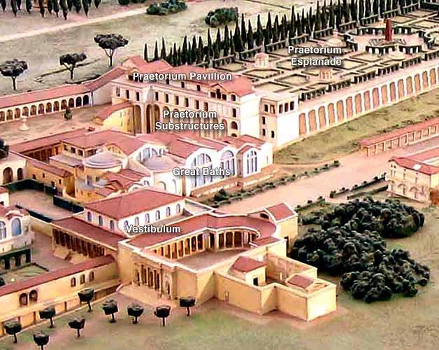 Plastic Model, Hadrian's Villa, Tivoli